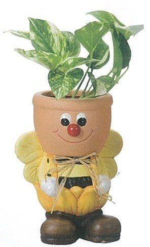 【カントリーミツバチプランター】